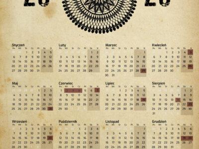Kalendarz imprez 2020 r.